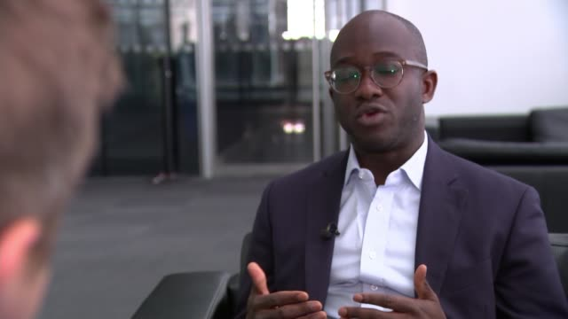michael gove admits he was fortunate to avoid jail after cocaine use england london gir int sam gyimah mp interview sot no deal is a disruptive route - gefängnisausbruch stock-videos und b-roll-filmmaterial