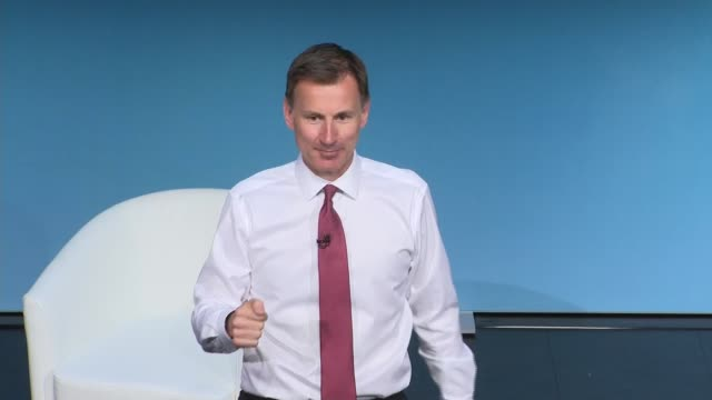 darlington hustings jeremy hunt england county durham darlington int jeremy hunt mp speech sot part 1 of 2 - darlington north east england stock videos & royalty-free footage