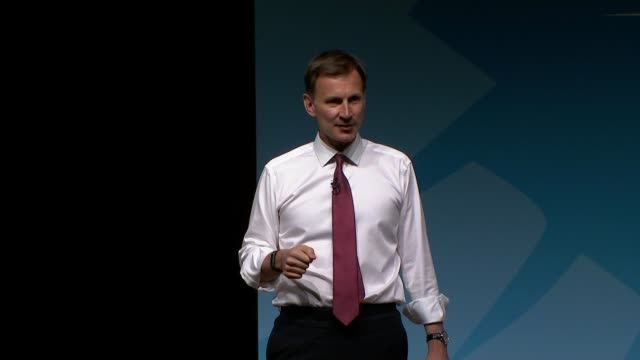 conservative party leadership contest: jeremy hunt and boris johnson in scotland and county durham; uk; boris johnson mp visiting bae systems... - premierminister stock-videos und b-roll-filmmaterial
