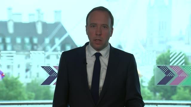 vidéos et rushes de conservative party leadership contest: matt hancock campaign launch; england: london: int matt hancock mp leadership campaign launch speech continued... - parti conservateur anglais