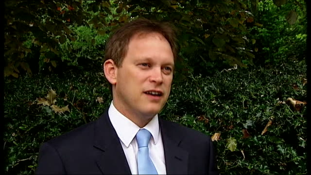 row over alleged mad swiveleyed loons comment ext grant shapps mp interview sot word got up that it was andrew feldman andrew feldman has been... - grant shapps stock videos and b-roll footage
