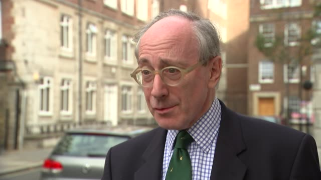 Speculation over support for Prime Minister Theresa May London Sir Malcolm Rifkind setup shot along with reporter / interview SOT Downing Street...