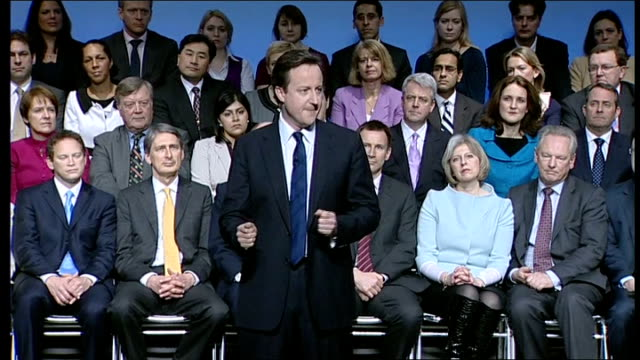 David Cameron speech David Cameron MP speech SOT Thank you So here we all are again conference time the polls closing a general election in the...