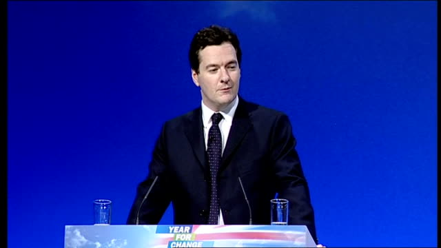 george osborne speech england east sussex brighton photography** shadow chancellor george osborne along to podium and shaking hands with kenneth... - things that go together stock videos & royalty-free footage