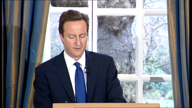 David Cameron monthly press conference David Cameron MP speech at monthly press conference SOT Today I want to talk about the big choice opening up...