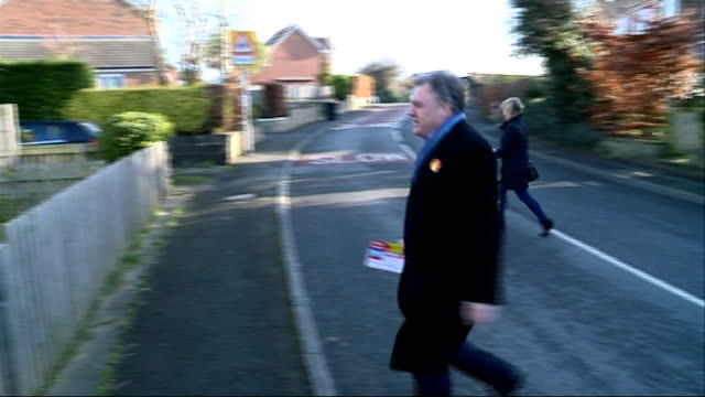 conservatives launch 'deficit' campaign poster; london: ext carl emmerson interview sot yorkshire: shadow chancellor ed balls mp and labour party... - letterbox stock-videos und b-roll-filmmaterial