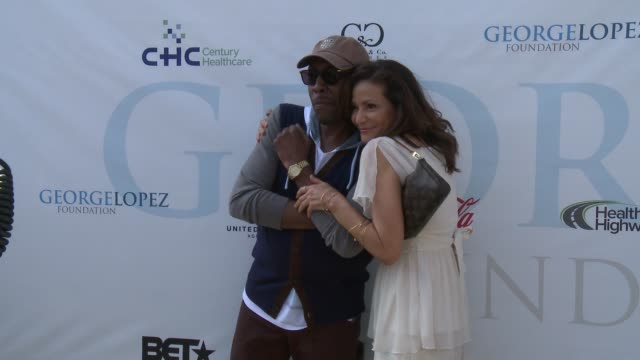 constance marie and arsenio hall at lakeside golf club on may 02, 2016 in burbank, california. - arsenio hall stock videos & royalty-free footage