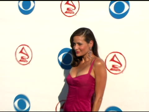 constance marie at the 2004 latin grammy awards arrivals at the shrine auditorium in los angeles, california on september 1, 2004. - latin grammy awards stock videos & royalty-free footage