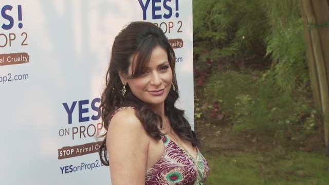Constance Marie at the Ellen DeGeneres and Portia De Rossi host Yes On Prop 2 party at Los Angeles CA