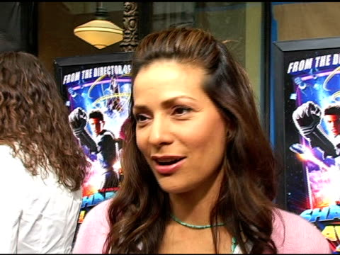 constance marie at the 'the adventures of sharkboy and lavagirl in 3-d' premiere at the el capitan theatre in hollywood, california on june 4, 2005. - el capitan theatre stock videos & royalty-free footage