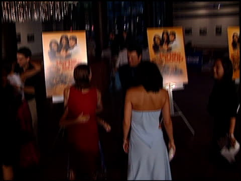 constance marie at the 'tortilla soup' premiere at dga theater in los angeles california on august 14 2001 - dga theater stock videos & royalty-free footage