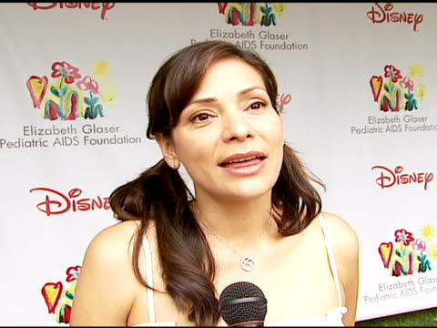 Constance Marie on being at the event on how and why she got involved with and supports the Foundation what makes the 'Time For Heroes' carnival...