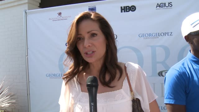 INTERVIEW Constance Marie on why she came out to support The George Lopez Foundation on her longtime friendship and work history as his TV wife on...