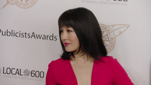 Constance Wu at 56th Annual ICG Publicists Awards 2019 at The Beverly Hilton Hotel on February 22 2019 in Beverly Hills California