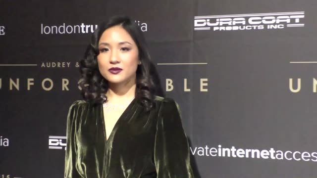 vídeos y material grabado en eventos de stock de constance wu at the audrey and koream 2015 unforgettable gala at the beverly hilton hotel in beverly hills at celebrity sightings in los angeles on... - the beverly hilton hotel