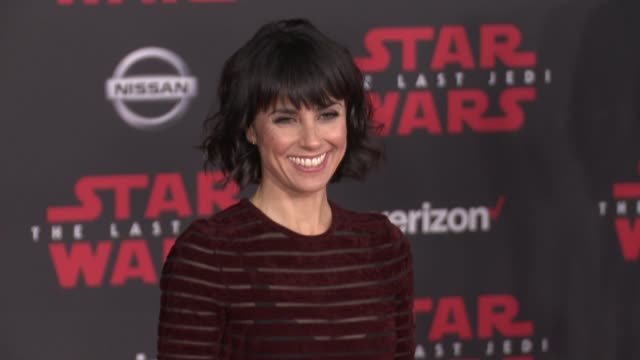 Constance Zimmer at the 'Star Wars The Last Jedi' Premiere at The Shrine Auditorium on December 9 2017 in Los Angeles California