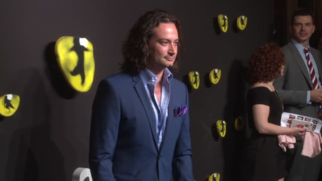 constantine maroulis at broadway revival of andrew lloyd weber's cats opening at neil simon theatre on july 31, 2016 in new york city. - revival stock videos & royalty-free footage