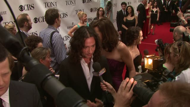 Constantine Maroulis at the 63rd Annual Tony Awards Red Carpet at New York NY