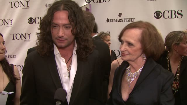 Constantine Maroulis on how he feels on the opportunity to be on broadway on performing tonight onstage on having ups and downs in his career on...