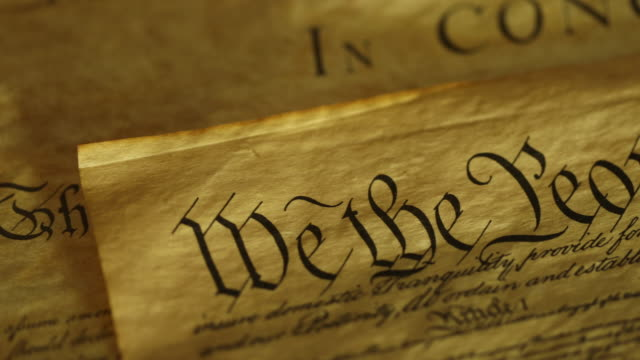 us constitution - we the people - constitution stock videos & royalty-free footage