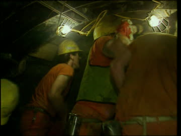 construction and drilling works on the channel tunnel / english channel - eurotunnel folkestone stock-videos und b-roll-filmmaterial