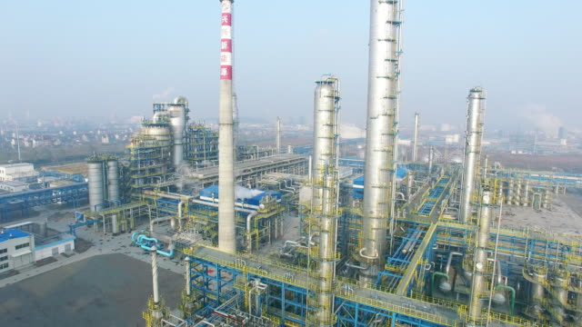 構造及びモダンな製油所の設備