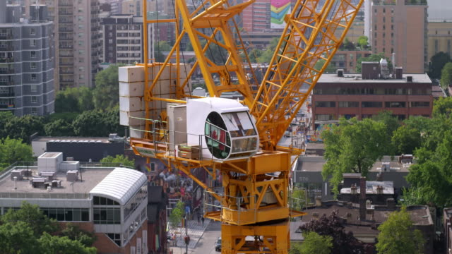 Construction Crane in Toronto