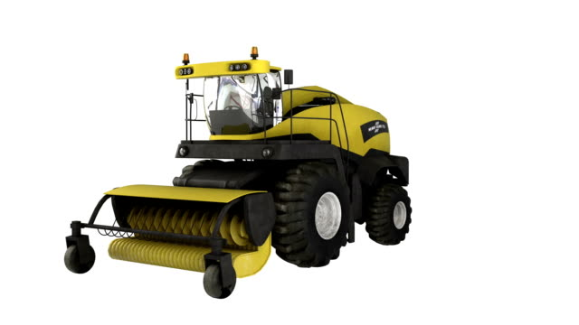Construction Equipment Combine Harvester