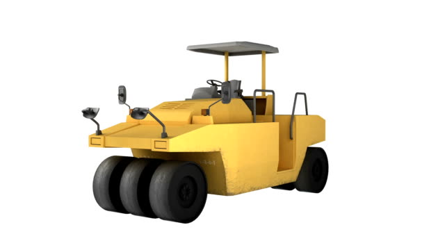 construction equipment steamroller - steamroller stock videos and b-roll footage