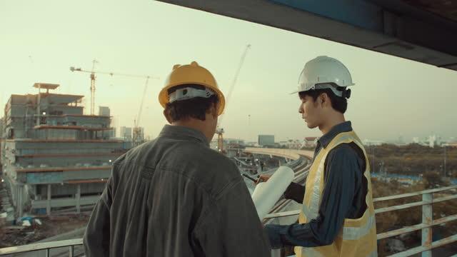 建設管理エンジニア - コントロール点の映像素材/bロール