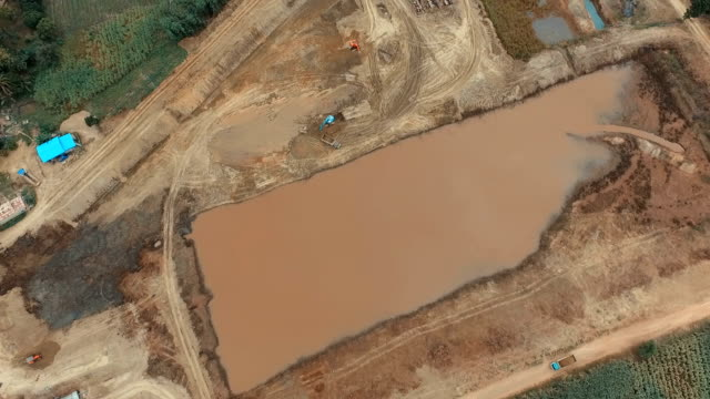 Construction of dams to store water for agriculture.