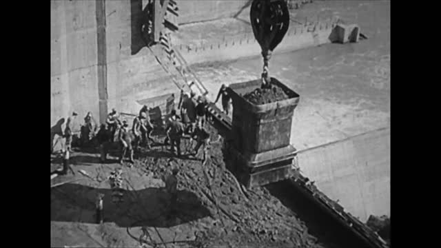 construction of hoover dam - construction site stock videos & royalty-free footage