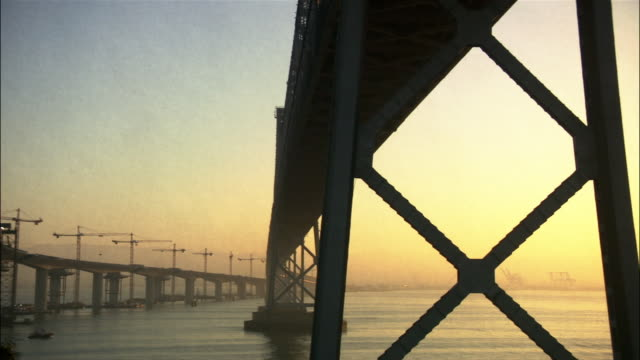 Construction on the Eastern span of the San Francisco-Oakland Bay Bridge / San Francisco