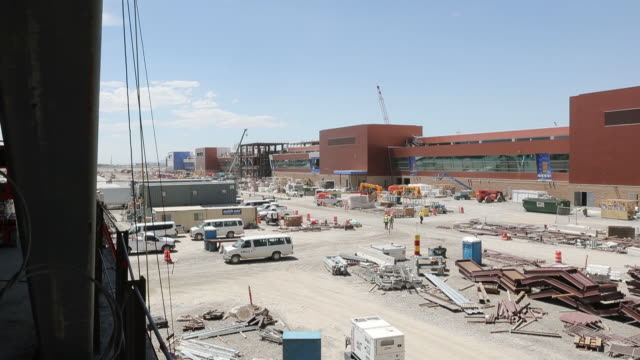 Construction proceeds on the new Salt Lake City International Airport Salt Lake City Utah US on Thursday June 28 2018