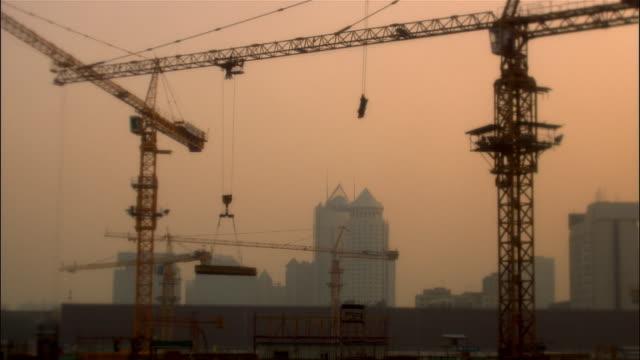 MS, PAN, Construction site, Beijing, China