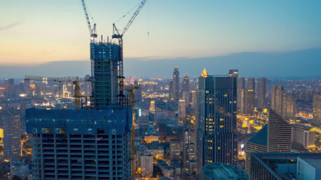 construction site in the city - liyao xie stock videos & royalty-free footage