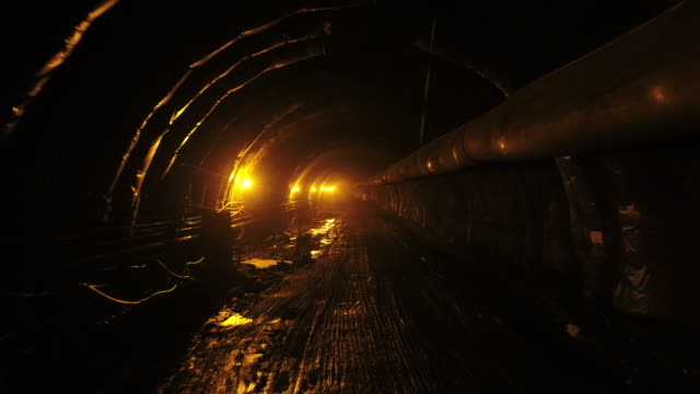 construction site of undersea tunnel / dangjin-si, chungcheongnam-do, south korea - cable stock videos & royalty-free footage