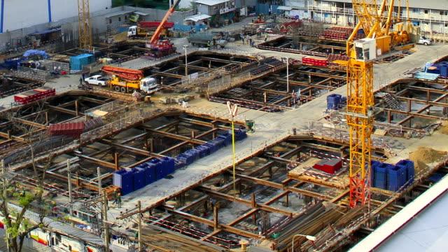 Construction site, Time lapse