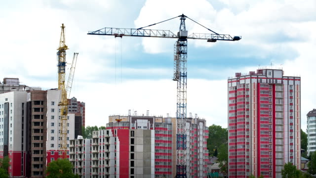 construction site, time lapse - russia stock videos & royalty-free footage