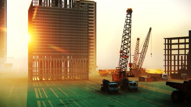 建設現場 - 建設現場点の映像素材/bロール