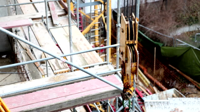 construction site - construction material stock videos & royalty-free footage