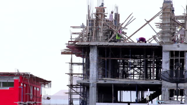HD : Construction site workers