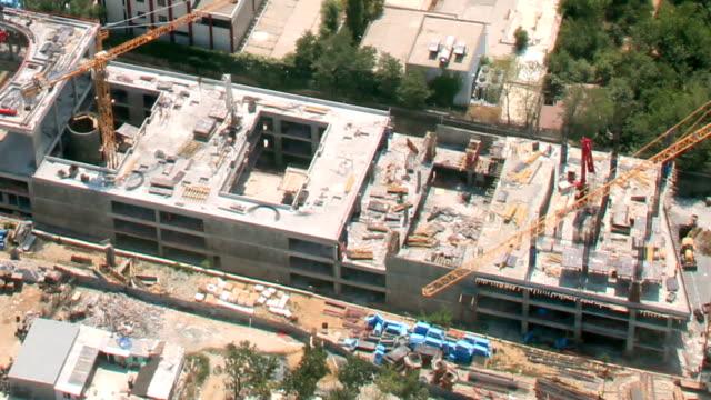 vídeos de stock e filmes b-roll de time lapse de construção - time lapse de movimento rápido