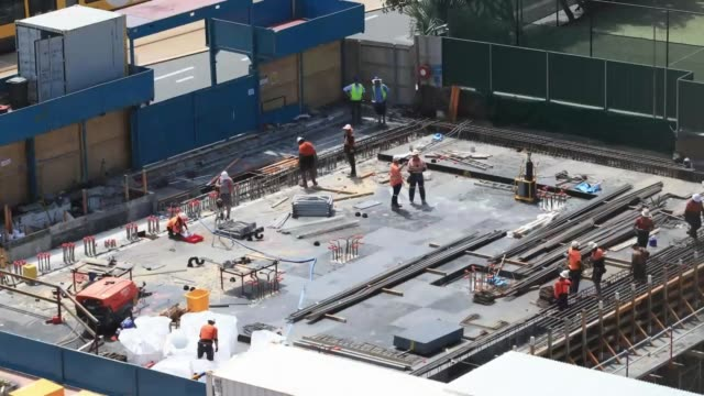 construction timelapse - building activity stock videos & royalty-free footage