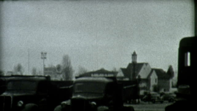 stockvideo's en b-roll-footage met construction trucks 1939 - 1930 1939