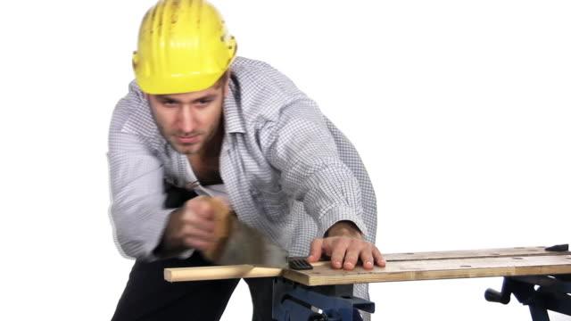 konstruktion - freisteller neutraler hintergrund stock-videos und b-roll-filmmaterial