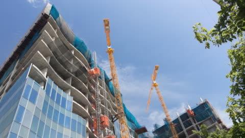 construction - bridge built structure stock videos & royalty-free footage
