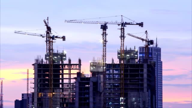 構造 - 建物の骨組み点の映像素材/bロール