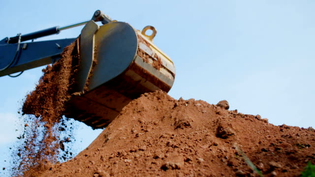 construction - earth mover stock videos & royalty-free footage