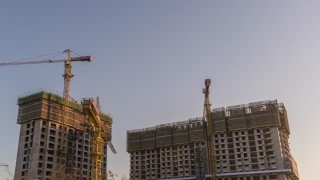T/L WS LA RL PAN Construction with Cranes / Beijing, China